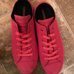 23dcfd1d6c9f41 Converse Shoes - Hot Pink rubber Converse NWOB 🎀